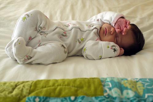Maggie, Three Weeks Old