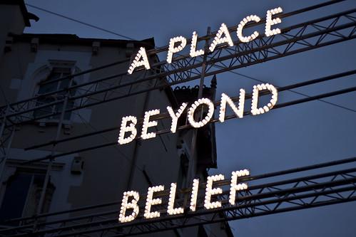 'A PLACE BEYOND BELIEF' Lumiere Festival, Durham