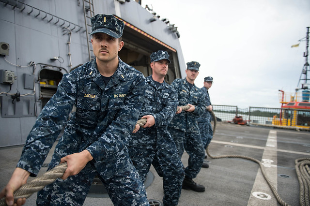 USS Freedom Visits Brunei