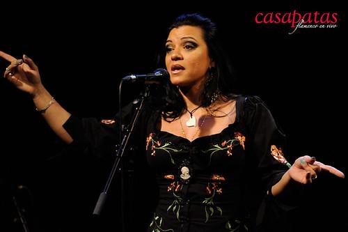 Saray Muñoz en Casa Patas. Foto: Martín Guerrrero
