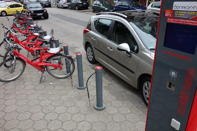 漢堡的公共自行車