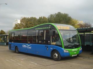 Thames Travel 718 on Route 162, Bracknell Bus Station