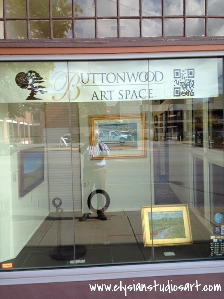 Buttonwood Art Space Front Window