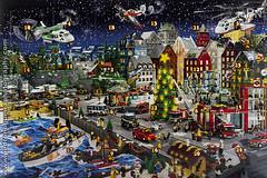 LEGO City Calendar Advent 2013