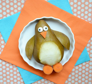 cutefoodpenguinpear