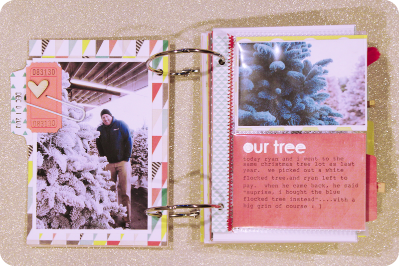 {december 1st} minibook | page 1