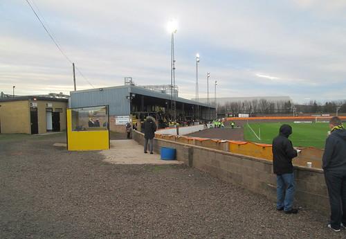 Shielfield Park, Stand