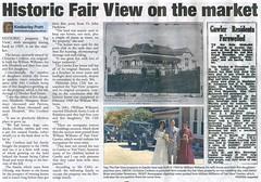Fair View Calton Road