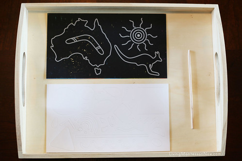 Australia Scratch Kit Tray