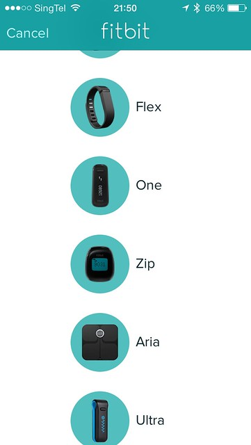 Fitbit Aria - iOS App (Setup New Device)