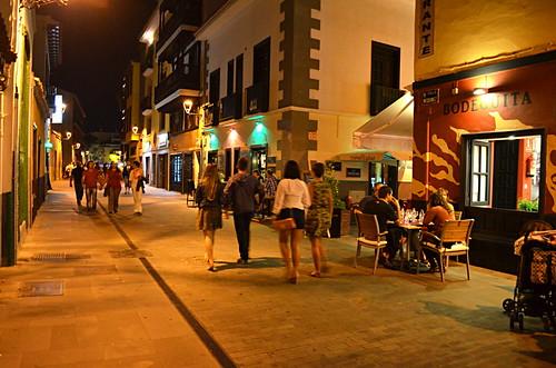 Newlty pedestrianised Calle Marquinez, Puerto de la Cruz