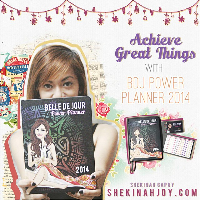 Achieve Great Things with Belle De Jour Power Planner 2014