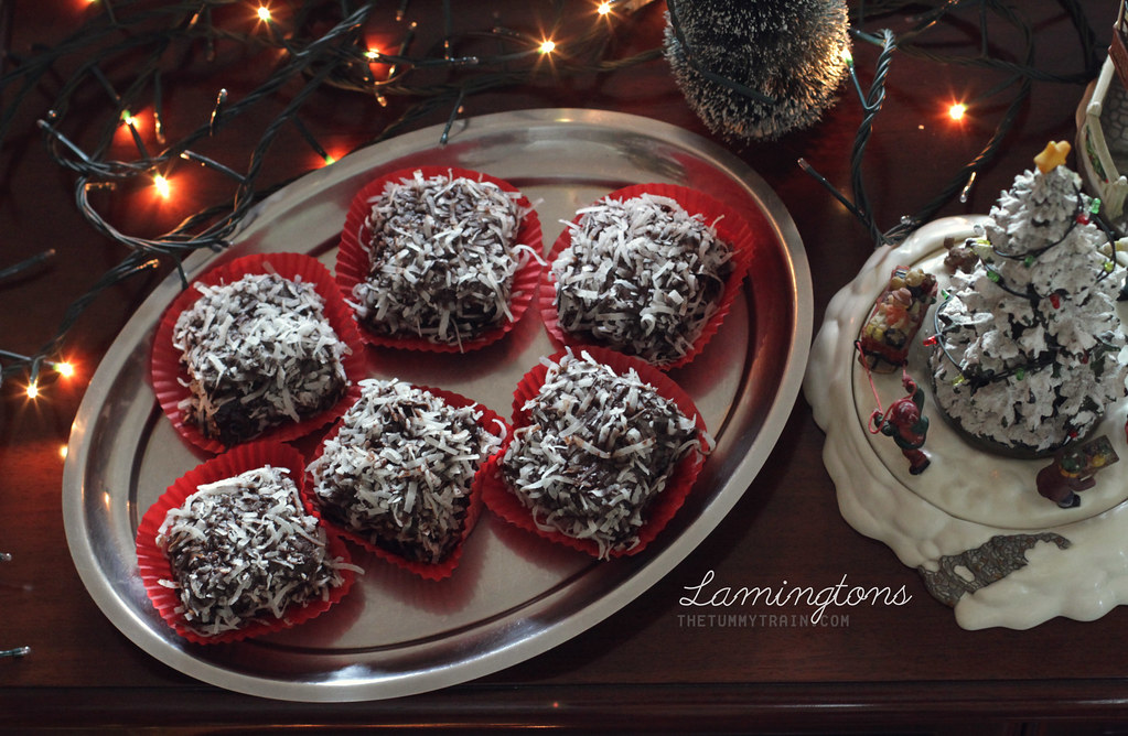 11417990885 571949ae75 b - {Christmas Countdown 2013} Just because lamingtons remind me of snow