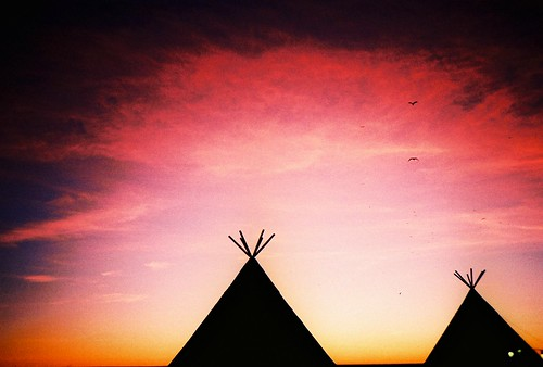 teepees by sea