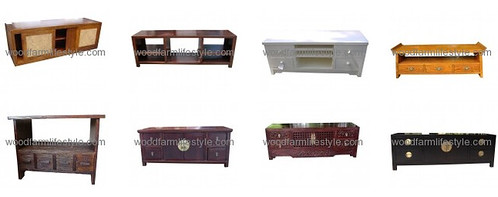 wood farm lifestyle tv consoles