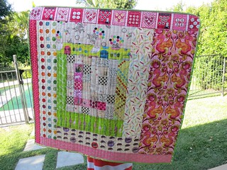 Play-mat quilt for Lily