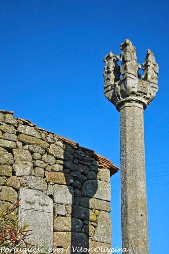 Pelourinho de Castelo de Ferreira de Aves - Portugal