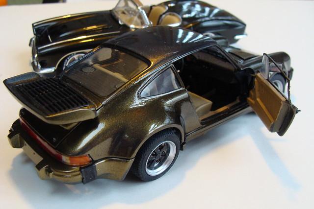 1962 Corvette and 1985 Porsche Turbo