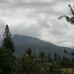 View from hotel, Maui