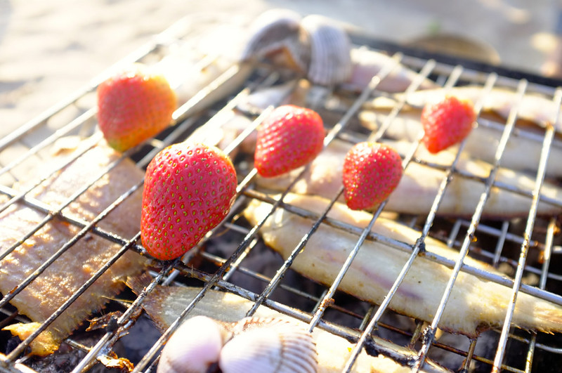 Yearbook January White BBQ Strawberry