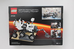 LEGO CUUSOO NASA Mars Science Laboratory Curiosity Rover (21104)
