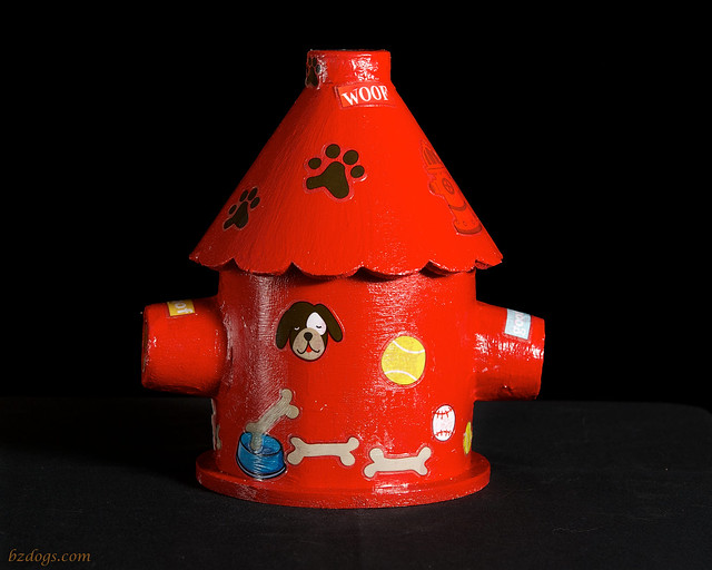 Fire Hydrant Bird House