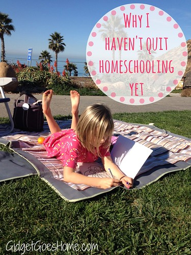 Why I haven't quit homeschooling yet