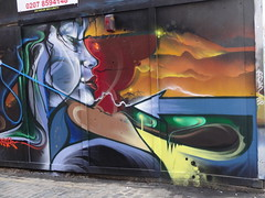 grafiti and walls around Brick lane by Julie70