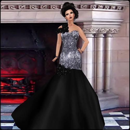 [AMARELO MANGA] - Dress Pilar  [Silver] by Orelana resident