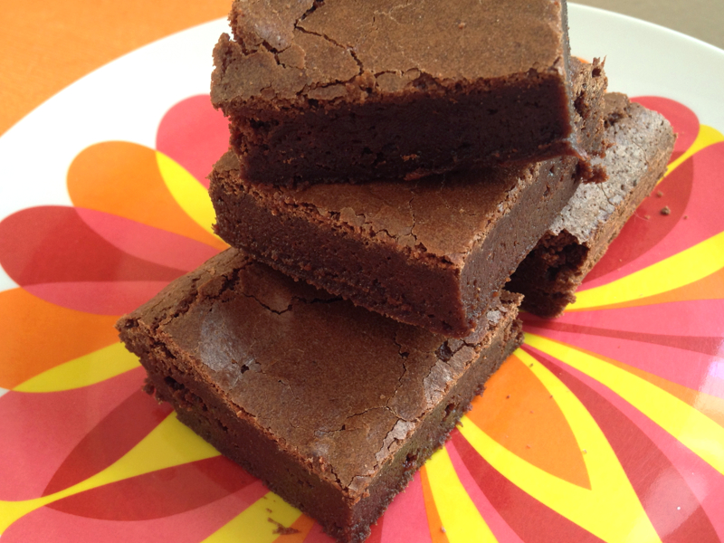 Browned Butter Espresso Brownies