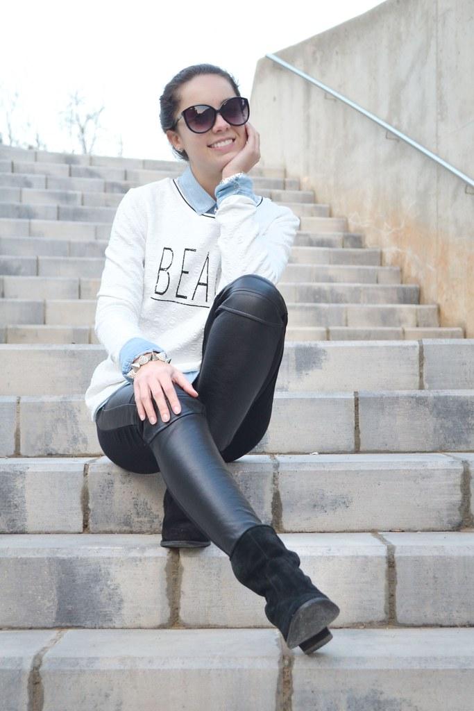 Jersey Beauty & Abrigo negro