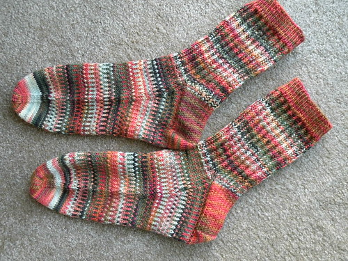 Drip Candles Socks 2