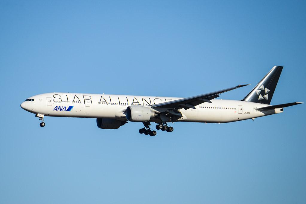 "ANA 777-300ER JA731A ""Star Alliance"""