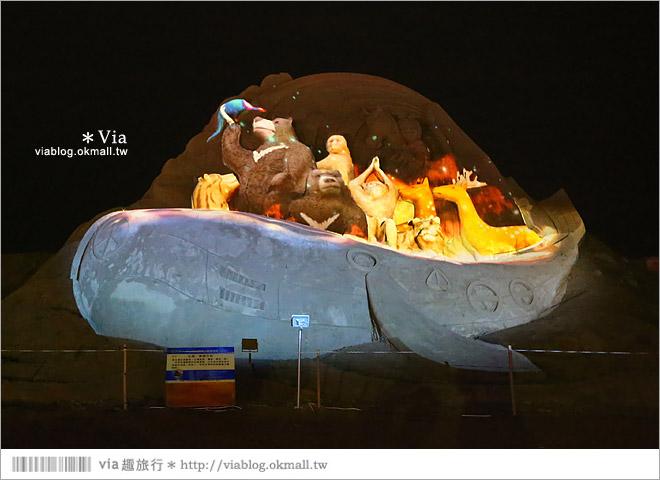 【2014台灣燈會在南投】南投沙雕燈會~夜間點燈好浪漫!還有精彩光雕秀28