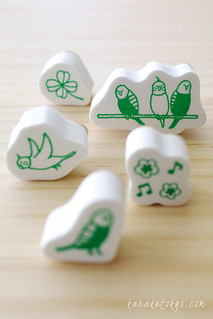 Little bird stamp set