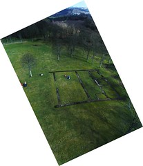 KAP Shot of BarHill Roman Fort Looking E