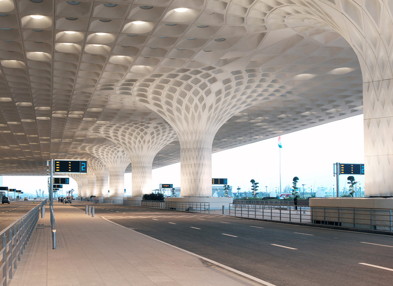 Chhatrapati Shivaji International Airport – Terminal 2 design by SOM