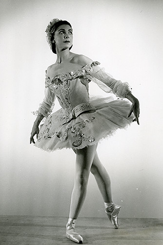Margot Fonteyn in action.