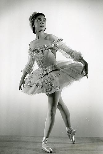 Margot Fonteyn in action.