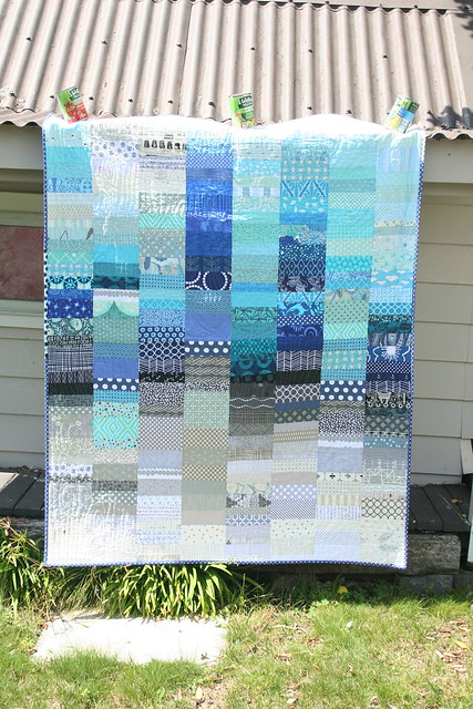 do. Good Stitches Care Circle quilt finished!