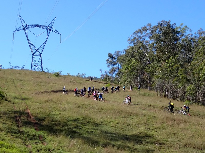 Steep Powerline Track