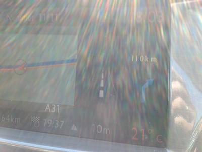 Bijna.. bij.. de.. bocht! Nog maar 110 km..