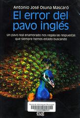 Antonio José Osuna mascaró, El error del pavo inglés