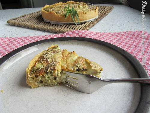 ©Nigel Slater Tart of asparagus and tarragon (3)