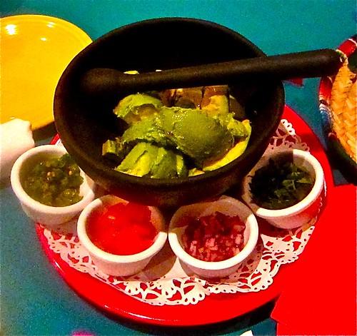 Guacamole before mixing