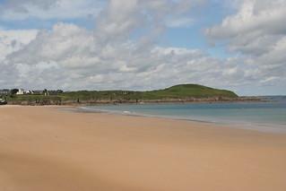Image de Plage de Longchamp. sea mer beach clouds nuages plage saintlunaire saintbriacsurmer