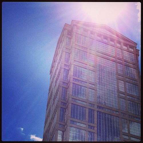 #fmsphotoaday June 25 - Sun flare. (From the archives, as the sun is NOT cooperating in my part of the world today. )