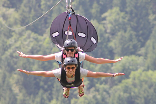 Volo su fune Fly Emotion
