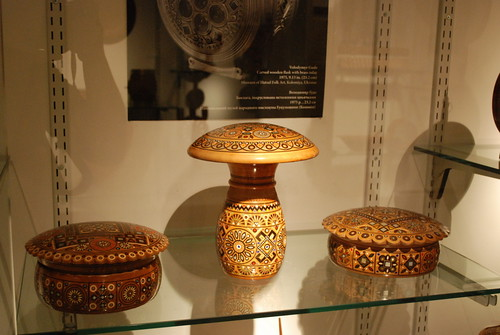 East Village - Ukrainian Museum - Wooden Boxes - Hutsul