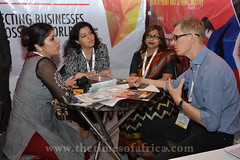 Yamini Srivastava, interacting with Sergey Dvoryanov, Vice President, Amicability International, Russia copy
